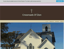 Tablet Preview of crossroadsofzion.org